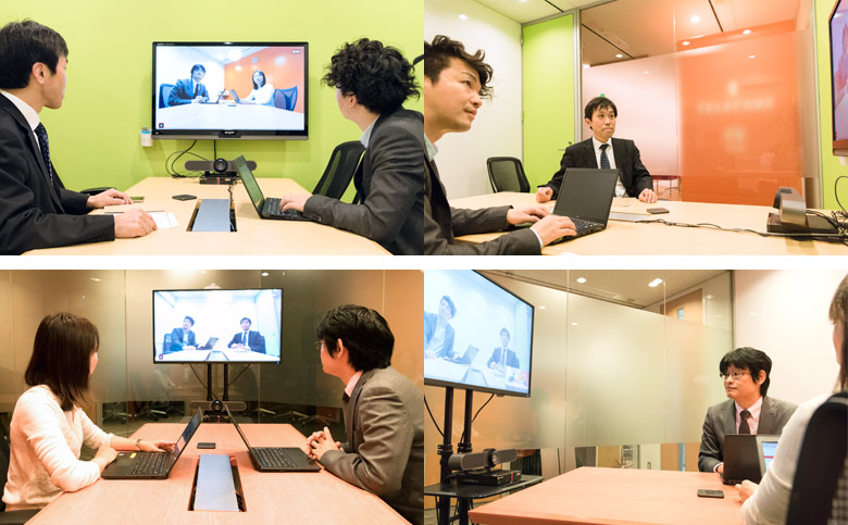 検証につかった会議室では2人を撮影した形だが、テーブルの大きさから4~6人を十分カバーできることがわかった。